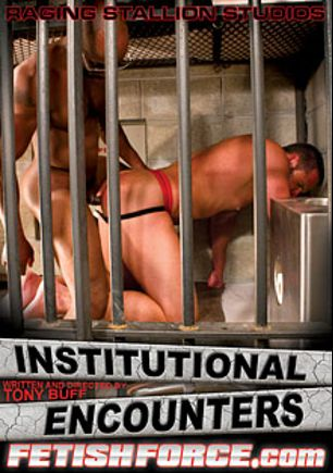 Institutional Encounters, starring Preston Steel, Race Cooper, Chris Yosef, Kyle Wood, Alessio Romero, Tony Buff, Leo Forte and Tommy Rawlins, produced by Fetish Force, Raging Stallion Studios and Falcon Studios Group.