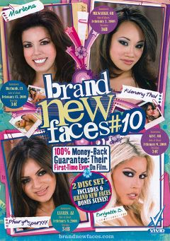 "Adult entertainment movie ""Brand New Faces 10 Part 2"" starring Pharyn Sparxxx, Kimmy Thai & Bridgette B.. Produced by Vivid Entertainment."