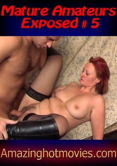 "Adult entertainment movie ""Mature Amateurs Exposed 5"". Produced by European Productions."