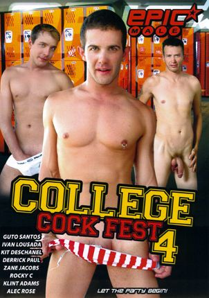 Gay Adult Movie College Cock Fest 4