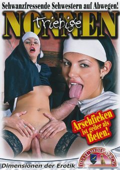 "Adult entertainment movie ""Triebige Nonnen"". Produced by MMV Multi Media Verlag."
