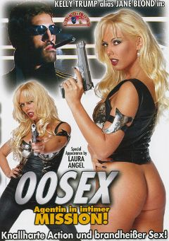 "Adult entertainment movie ""00SEX: Agentin In Intimer Mission"" starring Kelly Trump, Tom Labbo & Ferdinand Hillmann. Produced by MMV Multi Media Verlag."