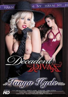 "Adult entertainment movie ""Decadent Diva's"" starring Megan Coxxx, Syren Sexton & Nicolas Wolanski. Produced by Harmony Films Ltd.."