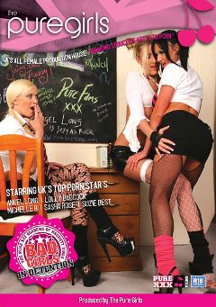 "Adult entertainment movie ""Bad Girls In Detention"" starring Lolly Badcock, Michelle B. & Angel Long. Produced by Purexxxfilms."