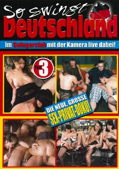 "Adult entertainment movie ""So Swingt Deutschland 3"". Produced by MMV Multi Media Verlag."