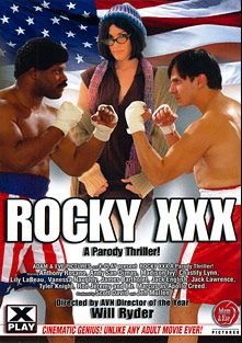 Rocky XXX, starring Andy San Dimas, XXX Ray, Mani Cruz, Domz G., Jack English, Chad Diamond, Lily Labeau, Vanessa Naughty, Madison Ivy, Chastity Lynn, James Bartholet, Anthony Rosano, Justin Boyd, Jack Lawrence, Tyler Knight, Mr. Marcus and Ron Jeremy, produced by Adam & Eve.
