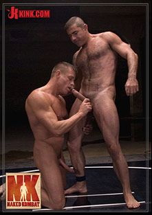 Naked Kombat: Nick Moretti Vs Tyler Saint The Water March, starring Nick Moretti and Tyler Saint, produced by KinkMen.