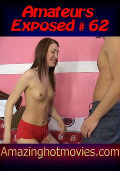 "Adult entertainment movie ""Amateurs Exposed 62"". Produced by European Productions."