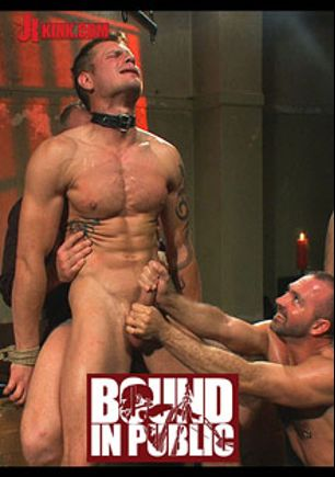 Bound In Public With Josh West And Trent Diesel, starring Trent Diesel and Josh West, produced by KinkMen.