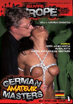 "Adult entertainment movie ""German Amateur Masters"" starring Anita, Gertrude & Jutta. Produced by Bizarre Europe."