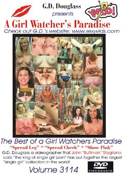 "Adult entertainment movie ""A Girl Watcher's Paradise 3114"". Produced by G.D. Douglass."