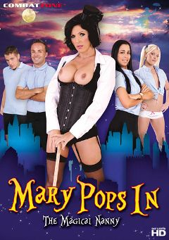 "Adult entertainment movie ""Mary Pops In"" starring Bebe Mendes, Shay Golden & Roxanne Hall. Produced by Combat Zone."