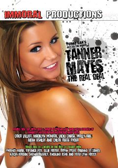 "Adult entertainment movie ""Tanner Mayes The Real Deal Part 2"" starring Tanner Mayes, Leslie Foxx & Shaina Beverly. Produced by Immoral Productions."