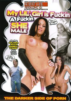 "Adult entertainment movie ""My Lil' Girl Is Fuckin A Fuckin Shemale"" starring Syang Angel, Isabelly Killer & Joyce. Produced by Robert Hill Releasing Co.."
