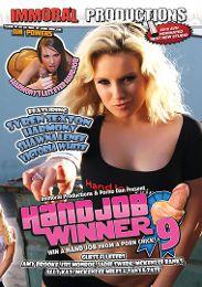 "Just Added presents the adult entertainment movie ""Handjob Winner 9""."