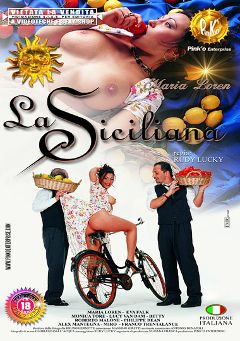 "Adult entertainment movie ""La Siciliana"" starring Maria Loren, Miro Da Nola & Lucy Loren. Produced by Pinko Enterprises."
