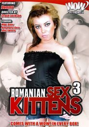 """Featured Studio - Wow Pictures presents the adult entertainment movie """"Romanian Sex Kittens 3""""."""
