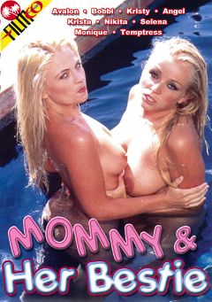 "Adult entertainment movie ""Mommy And Her Bestie"" starring Kristy Love, Krista Leigh & Bobbi Eden. Produced by Filmco."