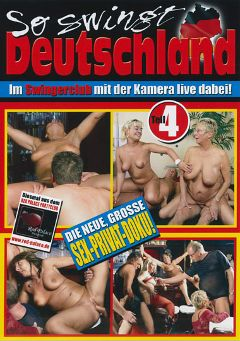 "Adult entertainment movie ""So Swingt Deutschland 4"". Produced by MMV Multi Media Verlag."