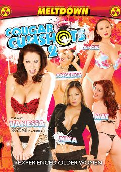"Adult entertainment movie ""Cougar Cumshots 2"" starring Mae Victoria, Ange Venus & Mika Kani. Produced by Meltdown."