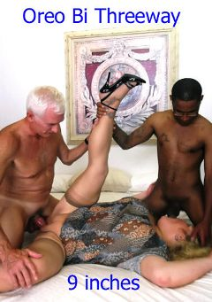 "Adult entertainment movie ""Oreo Bi Threeway"" starring Shaun Arnold, Carl Hubay & Daisy. Produced by Hot Dicks Video."