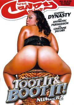 "Adult entertainment movie ""Toot It And Boot It 2"" starring Dynasty, Hyponotic & Ethan Hunt. Produced by Candy Shop."