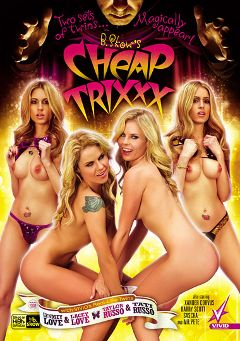 "Adult entertainment movie ""Cheap Trixxx"" starring Tati Russo, Taylor Russo & Lyndsey Love. Produced by Vivid Entertainment."