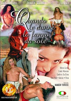 "Adult entertainment movie ""Quando Le Donne La Fanna Da Sole"" starring Paola Valle, Fanny Bravo & Nina. Produced by Pinko Enterprises."