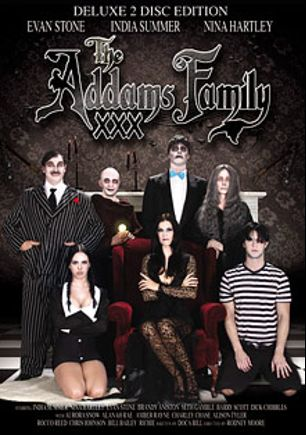 The Addams Family XXX, starring Alison Tyler, Alanah Rae, India Summer, Brandy Aniston, Bill Bailey, Seth Gamble, Rocco Reed, Charley Chase, Dick Chibbles, Barry Scott, Amber Rayne, Chris Johnson, Aurora Snow, Rodney Moore, Nina Hartley and Evan Stone, produced by Rodnievision.