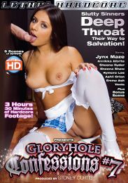 """Featured Category - Blowjob presents the adult entertainment movie """"Gloryhole Confessions 7""""."""