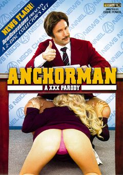 "Adult entertainment movie ""Anchorman A XXX Parody"" starring Aiden Starr, Adriana Sephora & Tasha Reign. Produced by New Sensations."