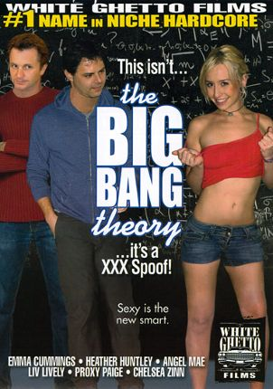 Straight Adult Movie This Isn't The Big Bang Theory It's A XXX Spoof