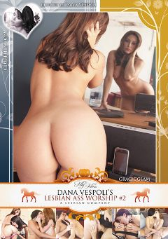 "Adult entertainment movie ""Lesbian Ass Worship 2"" starring Lucie Black, Sheena Shaw & Lola Foxx. Produced by Filly Films."