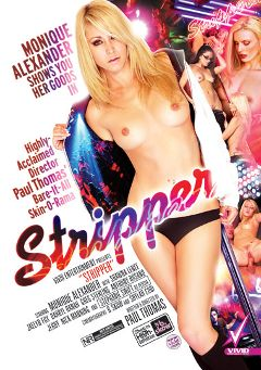 "Adult entertainment movie ""Stripper"" starring Darryl Hanah, Shawna Lenee & Stephanie Swift. Produced by Vivid Entertainment."