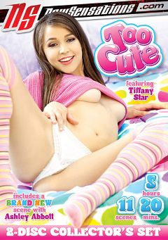 "Adult entertainment movie ""Too Cute"" starring Tiffany Star, Ashley Abott & Evilyn Fierce. Produced by New Sensations."