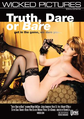Straight Adult Movie Truth, Dare Or Bare - front box cover