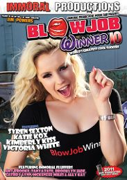 """Just Added presents the adult entertainment movie """"Blowjob Winner 10""""."""