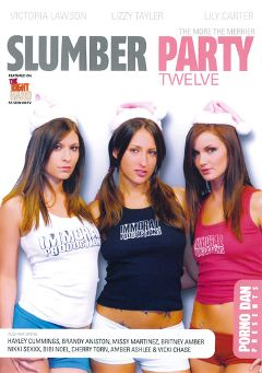 "Adult entertainment movie ""Slumber Party 12"" starring Lizz Tayler, Lily Carter & Victoria Lawson. Produced by Porno Dan Presents."