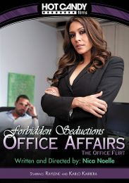 "Just Added presents the adult entertainment movie ""Office Affairs: The Office Flirt""."
