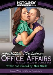 "Featured Studio - Hot Candy presents the adult entertainment movie ""Office Affairs: The Executive and the Office Boy""."