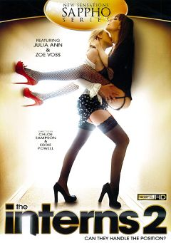"Adult entertainment movie ""The Interns 2"" starring Zoe Voss, Julia Ann & Allie Haze. Produced by New Sensations."