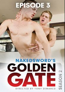 Golden Gate Season 2 Episode 3: Rich Twink, Poor Twink, starring Jake Lyons and Marcus Mojo, produced by NakedSword Originals.