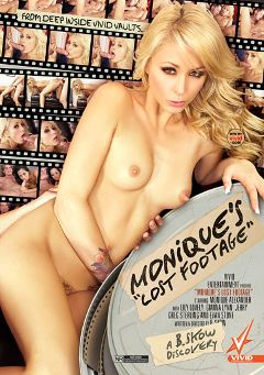 "Adult entertainment movie ""Monique's Lost Footage"" starring Monique Alexander, Greg Sterling & Jerry Kovacs. Produced by Vivid Entertainment."