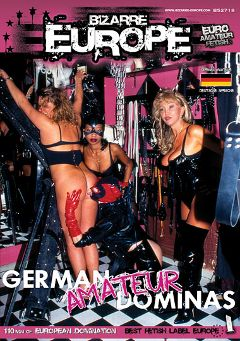 "Adult entertainment movie ""German Amateur Dominas"" starring Mistress Camilla, Mistress Edith & Fabiola. Produced by Sunset Media."