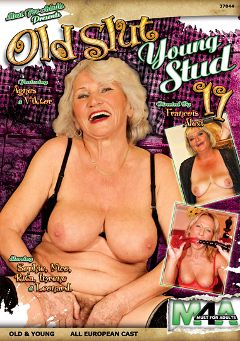 "Adult entertainment movie ""Old Slut Young Stud 11"" starring Agnes, Rita & Sophie. Produced by Must For Adults."