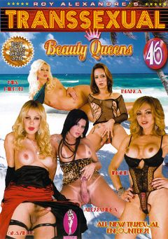 "Adult entertainment movie ""Transsexual Beauty Queens 46"" starring Alessandra Noguira, Bianca Nascimento & Grazielle Sanches. Produced by Blue Coyote Pictures."