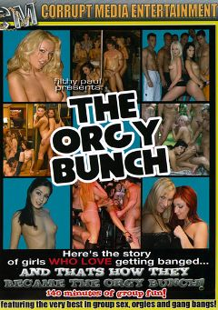 "Adult entertainment movie ""The Orgy Bunch"" starring Moni, Melissa Lauren & Katrina Kraven. Produced by Corrupt Media Entertainment."
