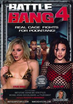 "Adult entertainment movie ""Battle Bang 4"" starring Kylee Reece, Nella Jay & Michael Vegas. Produced by Antigua Pictures."
