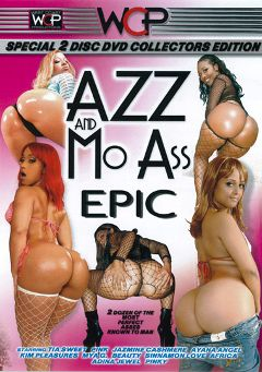"Adult entertainment movie ""Azz And Mo Ass Epic"" starring Monique Symone, Destiny Dream & Pink Champagne. Produced by West Coast Productions."