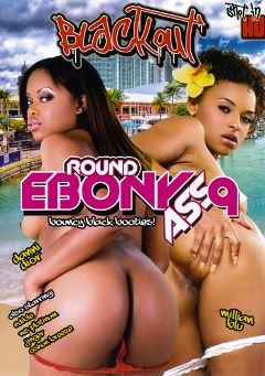 "Adult entertainment movie ""Round Ebony Ass 9"" starring Danni Dior, Millian Blu & Jinger. Produced by Magnus Productions."